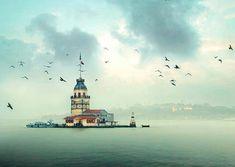 Istanbul, Türkiye, Kız Kulesi: Oraya gidip de büyülenmeyen var mıdır acaba?