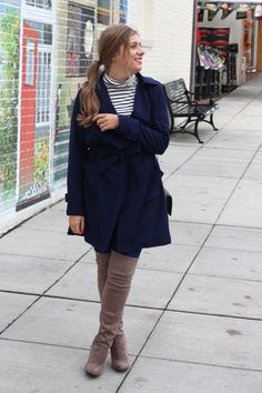 add some interest to your outer wear , try a colorful trench