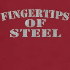 Fingertips of Steel T-Shirt have to get!!!