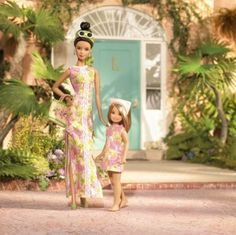 Lilly Pulitzer barbies