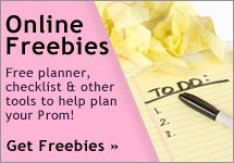 Online Prom Freebies - get a free Prom planner, Prom checklist, and more to plan your perfect Prom!