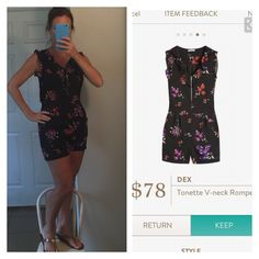 Maaaaaybe I would try a romper if it were this one?