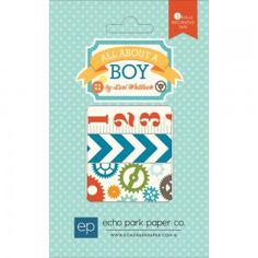 Echo Park All About A Boy Washi Tape