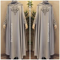 132 Likes, 5 Comments - Dubai Niqab Fashion, Muslim Fashion, Modest Fashion, Hijab Gown, Hijab Dress Party, Estilo Abaya, Ankara Mode, Modern Abaya, Kebaya Dress