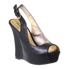 Black #Wedges the question is 'wedger or not'  they have my size.