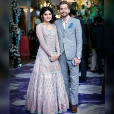 One of the cutest couples on this planet. I love them together an you can easily tell they're made for each other! Masha Allah!