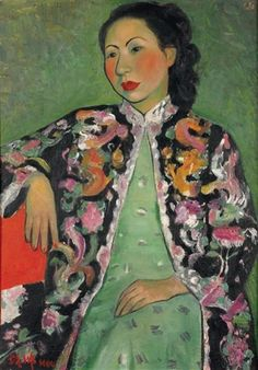 View Jeune femme au kimono by Pan Yuliang on artnet. Browse upcoming and past auction lots by Pan Yuliang. Chinese Painting, Chinese Art, Female Portrait, Female Art, Women In History, Art History, Xi Pan, Female Painters, Yangzhou