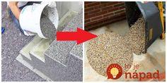Ak sa chystáte na jar na rekonštrukciu, úpravu vašej terasy, schodiska, alebo dlažby inde u vás doma, máme pre vás perfektný tip. Shag Rug, Pergola, Rugs, Garden, Home Decor, Houses, India, Shaggy Rug, Farmhouse Rugs