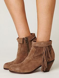 Lou Ankle Boot by Sam Edelman. Love the fringe. Apparently I am a fan of Sam Edelman's designs. I keep running across things I love, and who designed them?