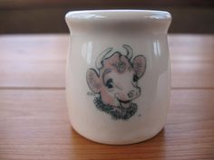 Borden's Elsie the Cow Individual Restaurant Dairy Creamer by Shenango China
