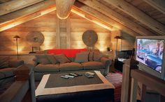 Chalet Montana, Val d'Isere, France. A 6 bedroom luxury ski chalet with private chef and exceptional service from Firefly Collection. www.firefly-collection.com