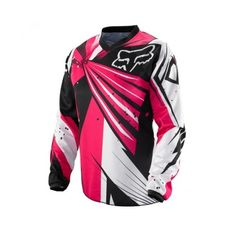 www.ltrsports.de 02374-285 Fox HC 12 Frauen Fahrer-Hemd MX Moto Cross ❤ liked on Polyvore featuring motocross, sports and motorcross