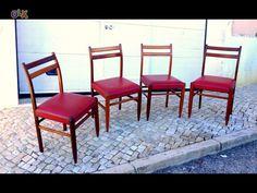 Cadeira olaio vintage 45comp X 39prof X 83alt