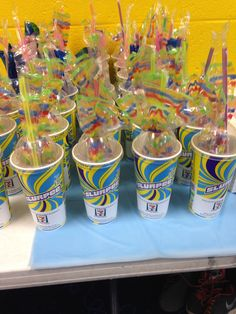 7 11 Themed Birthday Party Great For A Favor My Niece FavorsBoy
