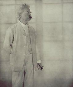 Alvin Langdon Coburn  Mark Twain,1908