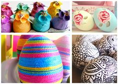 easter egg inspiration - I know it's in Italian, but so inspiring!  Need a translator...
