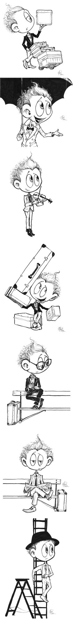 Just when I thought Tom Hiddleston couldn't get any cuter, someone had to go & make this fan art.