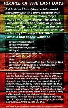 9_6_PeopleOfLastDays #whatdoesthebiblereallyteach #woljworg #jworg #bible #scriptures #Jehovah, #Yahweh #Jesus #Christ #Godskingdom #kingdom #goodnews #preach #God #ransom #worship #faith #lord #paradise #heaven #earth #love #Christian #newsystem #newworld #divinename #deathnomore #Godsgovernment #everlastinglife #resurrection #death #Jeshua #Yeshua #lastdays #watchtower #awake #newworldtranslation #kingjamesversion #Jehovahskingdom #lordsprayer #hell #sheol #grave #gehenna