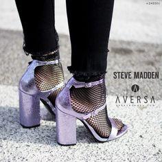 Steve Madden Parsson purple metallic
