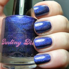 Darling Diva Polish: Nightbird--I love all of Carrie's colors!