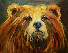 """Bear Face""  Diane Whitehead  $245"
