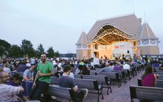 Lake Harriet Bandshell - free concerts every night in summer.