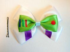 Buzz Lightyear Hair Bow Toy Story Disney Inspired. $8.50, via Etsy.