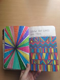 Another wreck this journal page that I made :) x