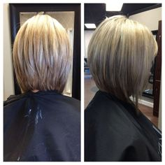 long bob hairstyles back view