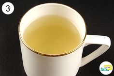 drink ginger tea for gas and bloating
