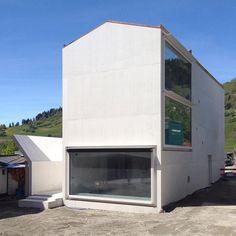 Valerio Olgiati - Private House, Laax