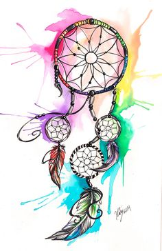 38 Trendy Room Decor Ideas Diy For Girls Dollar Stores Crafts For Teen Girls Room, Diy Crafts For Teen Girls, Diy For Teens, Girls Fun, Kids Diy, Girls Dream, Atrapasueños Tattoo, Dream Catcher Drawing, Dream Catcher Watercolor