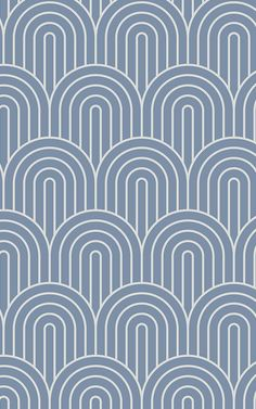 Blue Infinity Loop Wallpaper