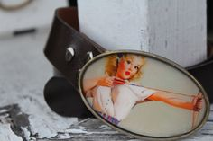 Hey, I found this really awesome Etsy listing at https://www.etsy.com/listing/175931372/vintage-pin-up-buckle-with-belt