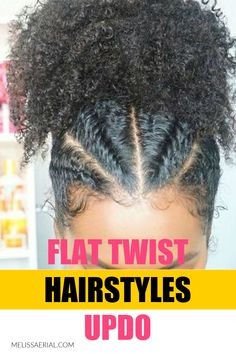 Cute Inspiration Flat Twist Hairstyle Updo
