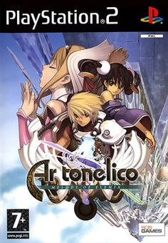 Playstation 2 - Ar tonelico Melody of Elemia