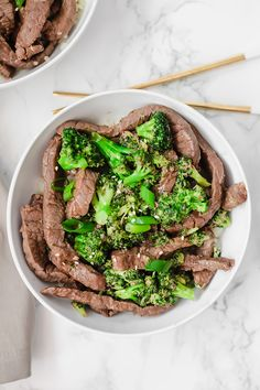 Easy Beef and Broccoli (Whole30, Paleo, AIP) - Unbound Wellness