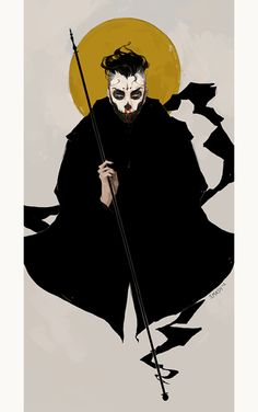 fadinghalo:    The Saint. by =knockingghosts