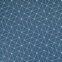 "Wachstuch ""Luna Dreiecke"" (petrol) Tile Floor, Flooring, Texture, Etsy, Abstract, Artwork, Crafts, Oilcloth, Handcrafted Gifts"