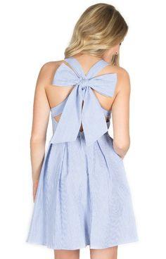 The Livingston Seersucker Dress