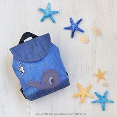Знакомьтесь, наша обновка - рюкзачок для активных деток. Шился в феврале, Мане на день рождения, а потом долго и трепетно ждал тепла и свое...