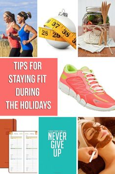 If you are looking to make it through the holiday season and still maintain your diet, here are some tips for Staying Fit During the Holidays
