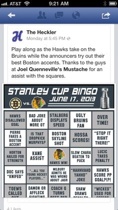 One more Game!!! Stanley Cup!!!