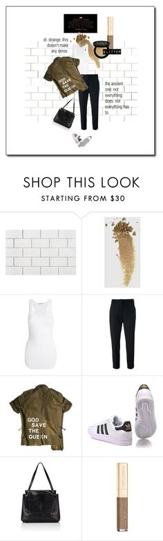 """""""strange magic"""" by j9ensemble ❤ liked on Polyvore featuring beauty, CB2, P & Lot, Gucci, Helmut Lang, Sportmax, adidas Originals, The Row and Dolce&Gabbana"""