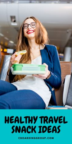 9 Healthy Travel Snacks - eat smarter on the road Looking for some delicious and healthy travel snac Travelling Tips, Packing Tips For Travel, Traveling, Travel Hacks, Healthy Travel Snacks, Yummy Healthy Snacks, Eat Healthy, Road Trip Snacks, Road Trips