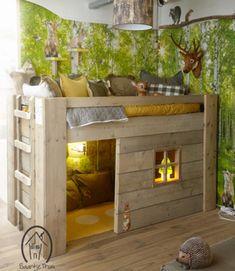 treehouse, bedroom, kids decor, kids bedrooms, kids ideas, kids diy, kidsrooms, kidstyle, cosy nook