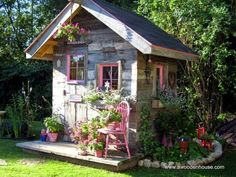 Arquitectura de Casas: 16 modelos de casitas de madera para el jardín.