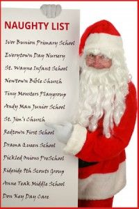 Nativity Plays Naughty List: A very interesting blog about the fact that many nativity plays held in schools and churches accidentally break the law! http://www.learn2soar.co.uk/blog/nativity-naughty-list