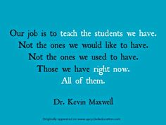 Maxwell quote - Upcycled Education