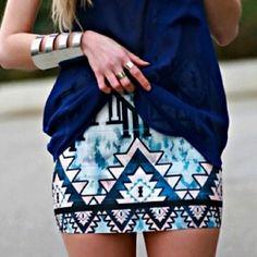 I do love body con skirts.